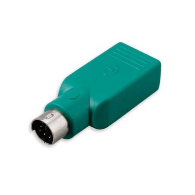 ADATTATORE CONVERTITORE DA PS2 A USB COLORE VERDE ACQUA SA30424 VULTECH