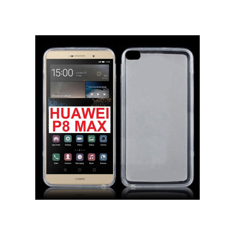 Custodia in Pelle Ecologica Huawei P9 Lite con Finestra S-View Bianco