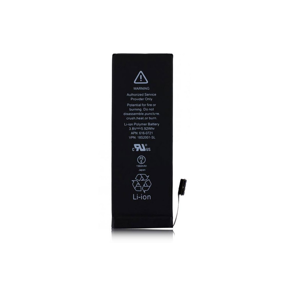 BATTERIA OEM per APPLE IPHONE 5s - APN: 616-0721 - 1560 mAh LI-ION BULK (NO LOGO APPLE)