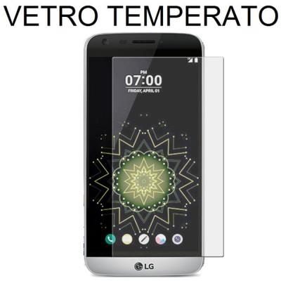 PELLICOLA per LG G5, G5 SE, G5 LITE - PROTEGGI DISPLAY VETRO TEMPERATO 0,33mm ATTENZIONE: copre parzialmente la parte frontale!