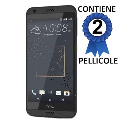 PELLICOLA PROTEGGI DISPLAY per HTC DESIRE 530 CONFEZIONE 2 PEZZI