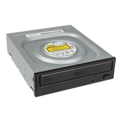 MASTERIZZATORE INTERNO CD/DVD GH24NSD1 SUPERMULTI DVD 24x SATA CON TECNOLOGIA SILENT PLAY COLORE NERO LG BULK