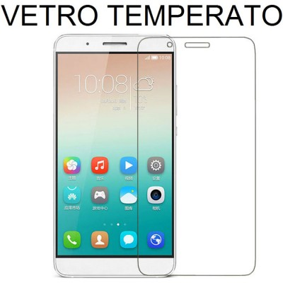 PELLICOLA PROTEGGI DISPLAY VETRO TEMPERATO 0,33mm per HUAWEI SHOT X, HONOR 7i