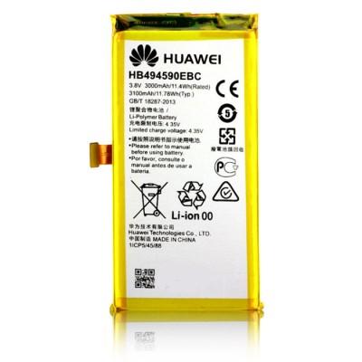 BATTERIA ORIGINALE HUAWEI HB494590EBC per HONOR 7 - 3000 mAh LI-ION BULK