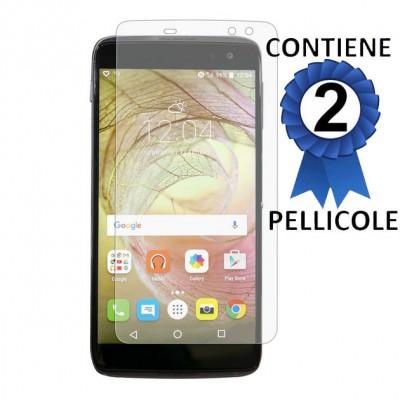 PELLICOLA per ALCATEL IDOL 4S, IDOL 4S WINDOWS - PROTEGGI DISPLAY CONFEZIONE 2 PEZZI