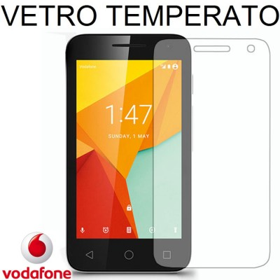 PELLICOLA PROTEGGI DISPLAY VETRO TEMPERATO 0,33mm per VODAFONE SMART MINI 7, VF-300