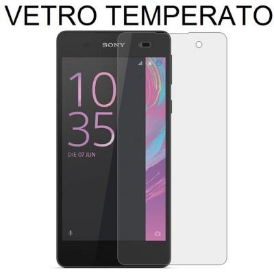 PELLICOLA PROTEGGI DISPLAY VETRO TEMPERATO 0,3mm per SONY XPERIA E5, XPERIA E5 DUAL