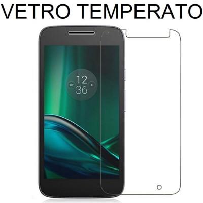 PELLICOLA PROTEGGI DISPLAY VETRO TEMPERATO 0,33mm per LENOVO MOTO G4 PLAY, XT1607, XT1609
