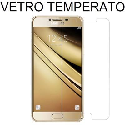 PELLICOLA PROTEGGI DISPLAY VETRO TEMPERATO 0,33mm per SAMSUNG SM-C5000 GALAXY C5 ATTENZIONE: copre parzialmente la parte frontal