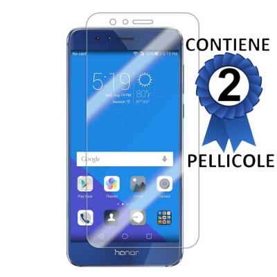 PELLICOLA PROTEGGI DISPLAY per HUAWEI HONOR 8 CONFEZIONE 2 PEZZI