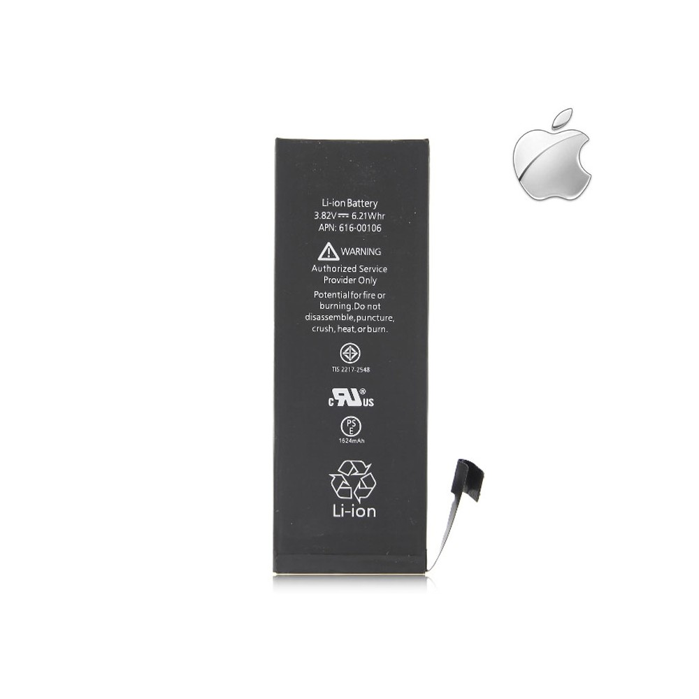 BATTERIA OEM per APPLE IPHONE SE - APN: 616-00106 - 1624 mAh LI-ION BULK (NO LOGO APPLE)