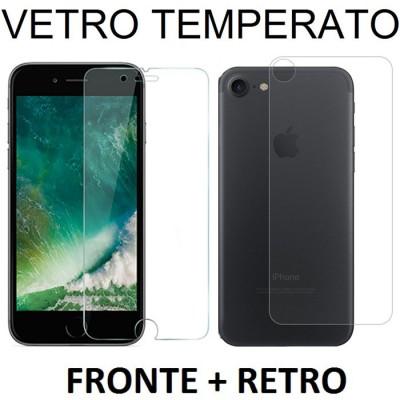 PELLICOLA per APPLE IPHONE 7, IPHONE 8 - PROTEGGI DISPLAY VETRO TEMPERATO FRONTE + RETRO 0,33mm - ATTENZIONE..