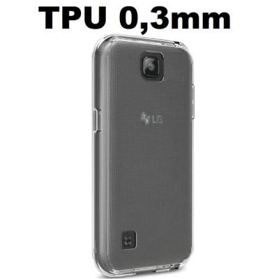 CUSTODIA per LG K3 (K100), LG K3 DUAL SIM (K100DS) IN GEL TPU SILICONE ULTRA SLIM TRASPARENTE 0,3mm