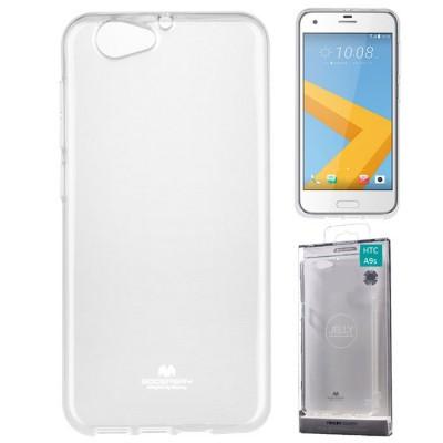 CUSTODIA per HTC ONE A9s IN GEL TPU SILICONE TRASPARENTE ALTA QUALITA' MERCURY BLISTER
