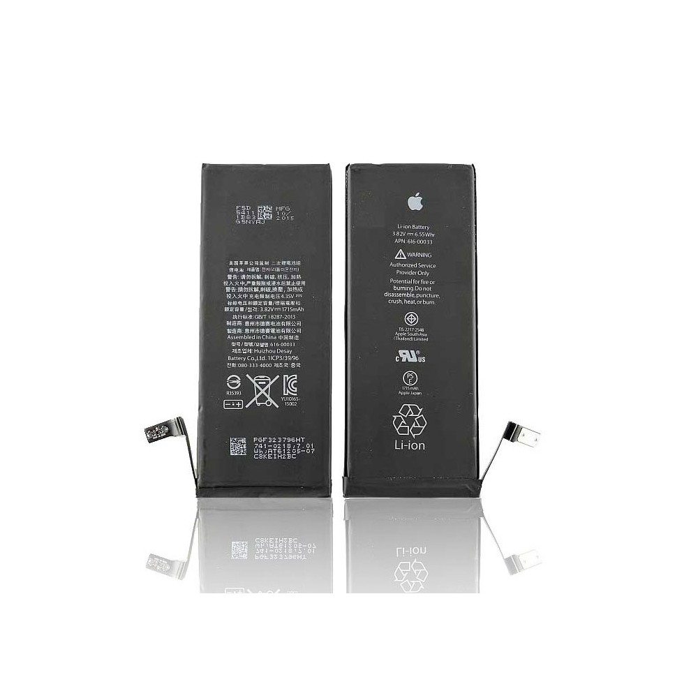 BATTERIA OEM per APPLE IPHONE 6S, 4.7' POLLICI - APN: 616-00033 - 1715 mAh LI-ION BULK