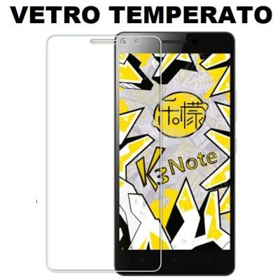 PELLICOLA per LENOVO VIBE K3 NOTE (K50-t5) PROTEGGI DISPLAY VETRO TEMPERATO 0,33mm