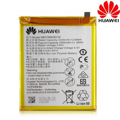 BATTERIA ORIGINALE HUAWEI HB376883ECW per HUAWEI P9 PLUS - 3320 mAh LI-ION BULK