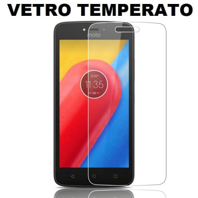 PELLICOLA per MOTOROLA MOTO C PLUS - PROTEGGI DISPLAY VETRO TEMPERATO 0,33mm