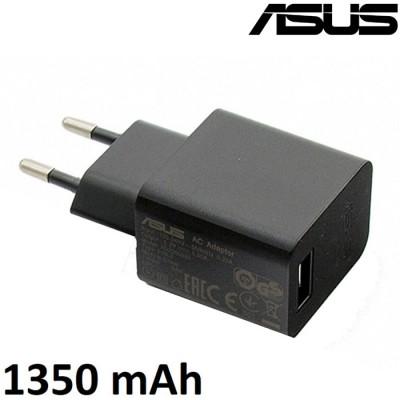 TRAVEL CASA USB 1350 mAh ORIGINALE per ASUS ZENFONE LIVE ZB501KL COLORE NERO AD2005020 BULK SEGUE COMPATIBILITA'..