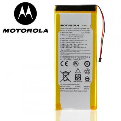 BATTERIA ORIGINALE MOTOROLA GA40 per MOTO G4, MOTO G4 PLUS - 3000 mAh LI-ION BULK