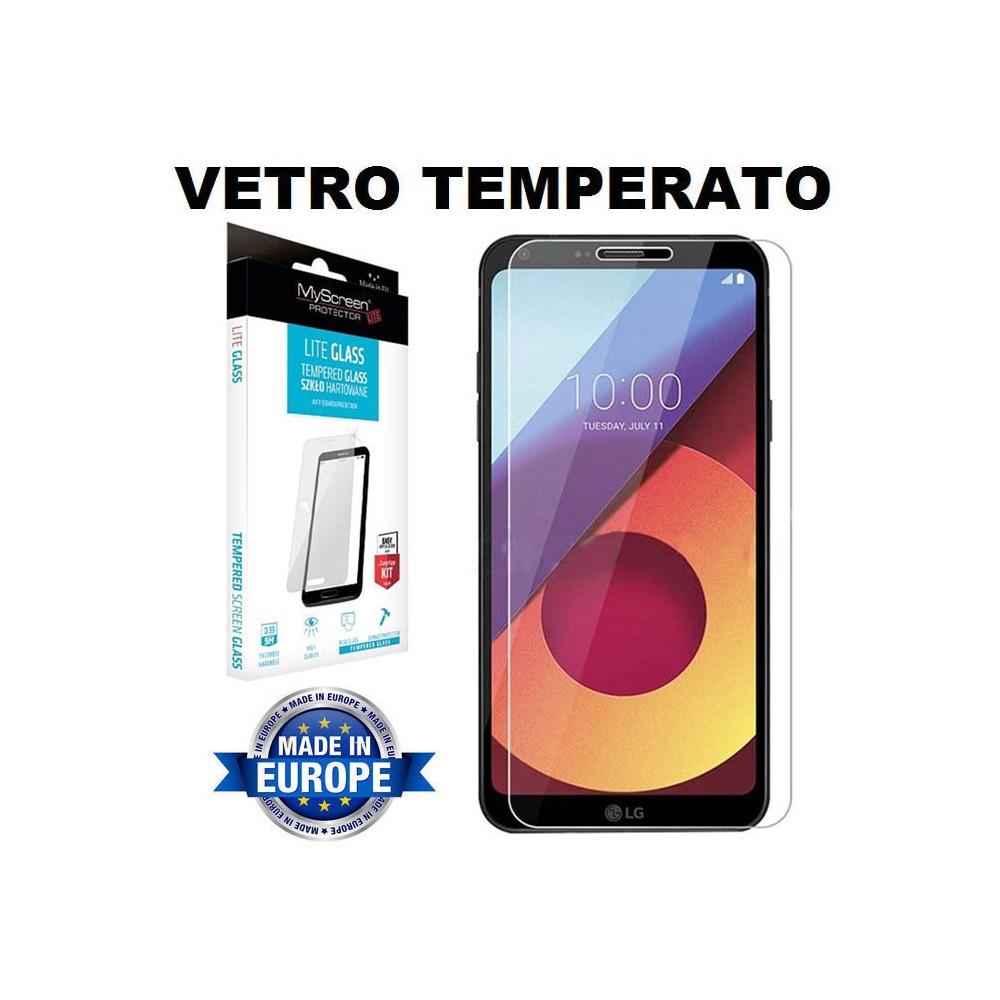 PELLICOLA VETRO TEMPERATO 9H PER LG Q6 DISPLAY SCHERMO
