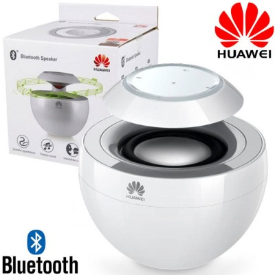 CASSA SPEAKER BLUETOOTH ORIGINALE HUAWEI con BLUETOOTH 4.0, MICROFONO PER CHIAMATE IN VIVAVOCE AM08 COLORE BIANCO BLISTER