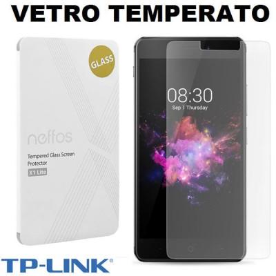 PELLICOLA ORIGINALE per TP-LINK NEFFOS X1 LITE (5') - PROTEGGI DISPLAY VETRO TEMPERATO 9H 2.5D BLISTER
