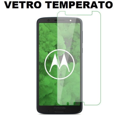 PELLICOLA per MOTOROLA MOTO G6 PLUS (5.9') - PROTEGGI DISPLAY VETRO TEMPERATO 0,33mm