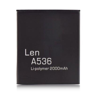 BATTERIA COMPATIBILE per LENOVO A536, A656, A658T, A750E, A766, A770E, S650, S658T, S820, S820E - 2000 mAh LI-ION