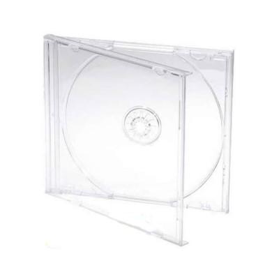 CUSTODIA PORTA CD/DVD CON COPERTURA TRASPARENTE