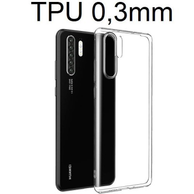 CUSTODIA per HUAWEI P30 PRO IN GEL TPU SILICONE ULTRA SLIM 0,3mm TRASPARENTE