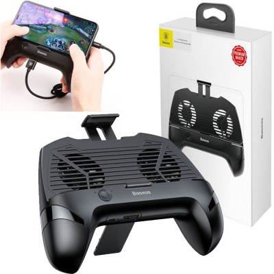 SUPPORTO GAMEPAD per DISPOSITIVI DA 4' A 6.3' CON VENTOLE DI RAFFREDDAMENTO E POWER BANK INCORPORATA 1200 mAh COLORE NERO