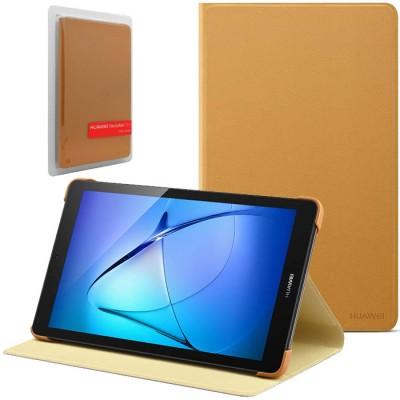 CUSTODIA ORIGINALE per HUAWEI MEDIAPAD T3 7.0 Wi-Fi - FLIP COVER CON STAND COLORE MARRONE 51991969 BLISTER
