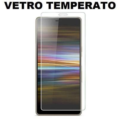 PELLICOLA per SONY XPERIA L3 - PROTEGGI DISPLAY VETRO TEMPERATO 0,33mm - ATTENZIONE: copre parzialmente la parte frontale!