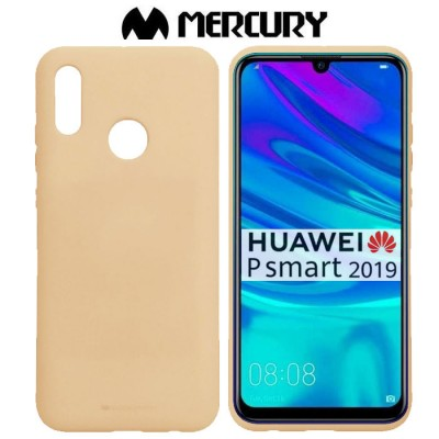 CUSTODIA per HUAWEI P SMART 2019, HONOR 10 LITE IN GEL TPU SILICONE COLORE SABBIA ALTA QUALITA' MERCURY SOFT BLISTER