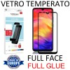 PELLICOLA per XIAOMI REDMI NOTE 7, REDMI NOTE 7 PRO IN VETRO TEMPERATO FULL FACE 9H - FULL GLUE 0,33mm CON CORNICE NERA MYSCREEN