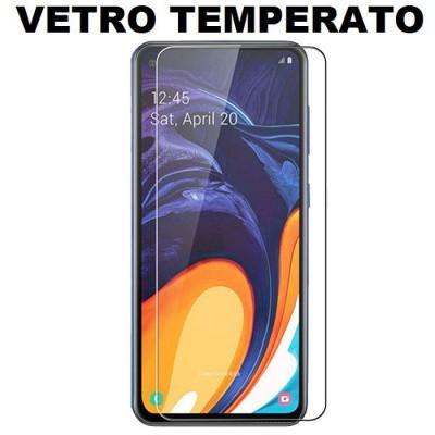 PELLICOLA per SAMSUNG GALAXY A60 (SM-A606) - PROTEGGI DISPLAY VETRO TEMPERATO 0,33mm - ATTENZIONE: Non copre la parte arrotondat