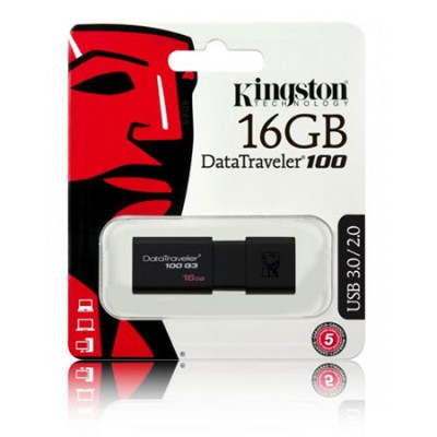 PEN DRIVE 16GB USB 3.0 DT100G3/16GB KINGSTON BLISTER
