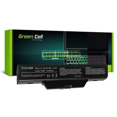 BATTERIA NOTEBOOK PER HP COMPAQ 6720s, HP COMPAQ 6730s - 10.8V 4400mAh LI-ION COLORE NERO HP08 GREEN CELL SEGUE COMPATIBILITA'..