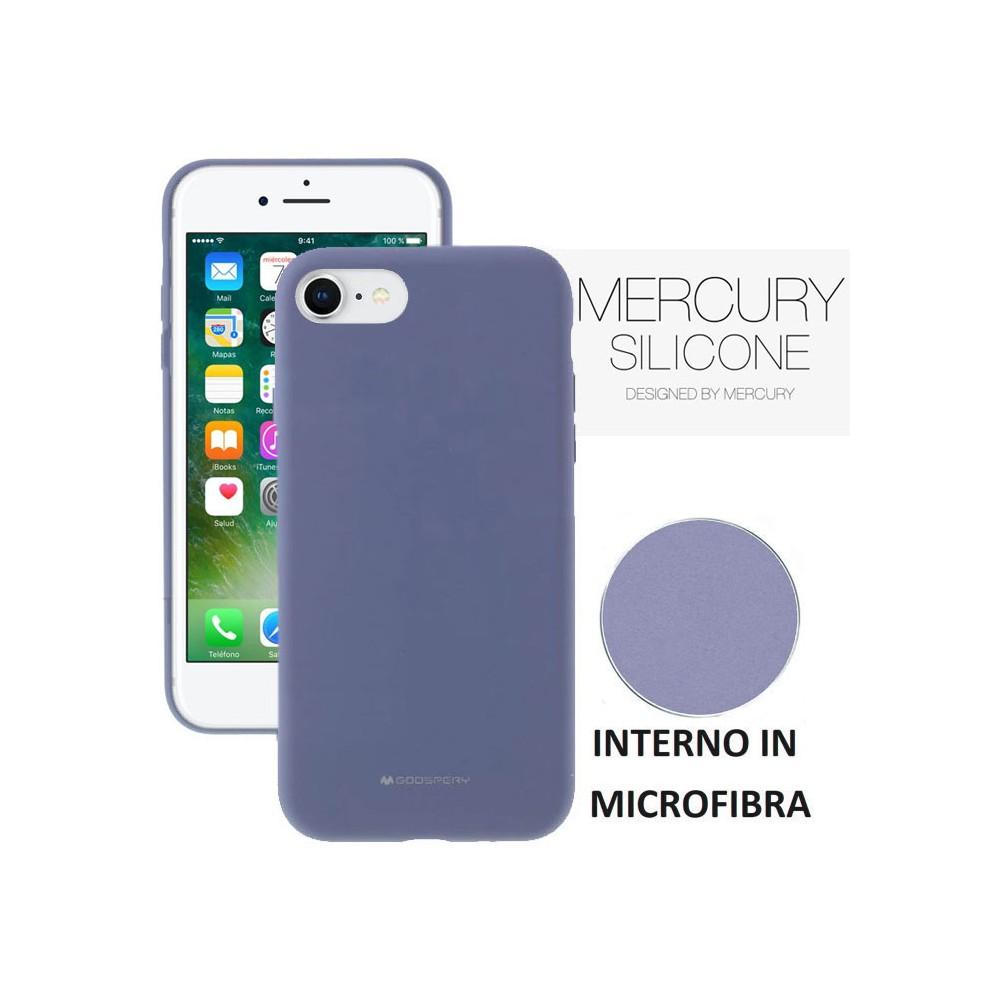 COVER CUSTODIA SILICONE ORIGINALE TESSUTO APPLE IPHONE 8-8PLUS+