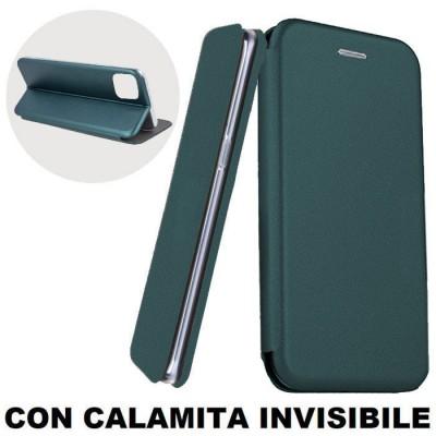 CUSTODIA per APPLE IPHONE 11 PRO MAX (6.5') - FLIP ORIZZONTALE SIMILPELLE CON CHIUSURA MAGNETICA INVISIBILE E INTERNO IN TPU VER