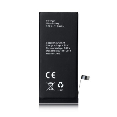 BATTERIA OEM per APPLE IPHONE XR (6.1') APN: 616-00471 CON FLAT - 2942 mAh LI-ION BULK ( NO LOGO APPLE )