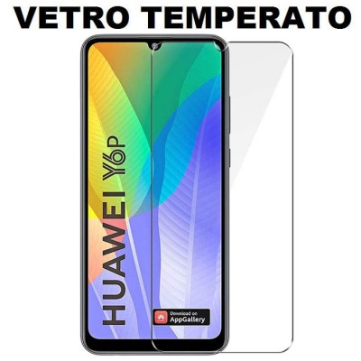 PELLICOLA per HUAWEI Y6p, HONOR 9A - PROTEGGI DISPLAY VETRO TEMPERATO 0,33mm - ATTENZIONE...