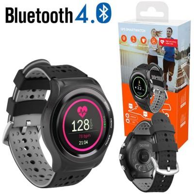 SMARTWATCH ACME SW301 CON BLUETOOTH 4.0, CARDIOFREQUENZIMETRO, GPS, AVVISO DI CHIAMATA E NOTIFICHE COLORE NERO BLISTER