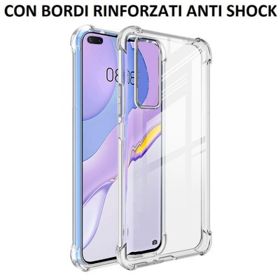CUSTODIA per HUAWEI NOVA 7 PRO (5G) - IN GEL TPU SILICONE TRASPARENTE SLIM 0,5mm CON BORDI RINFORZATI ANTI SHOCK