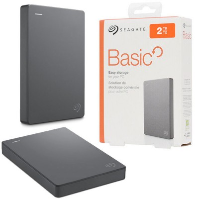 HARD DISK ESTERNO 2.5' CAPACITA' 2TB USB 3.0 STJL2000400 SEAGATE BASIC COLORE NERO BLISTER